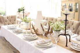 dining table decor. Contemporary Decor Dinner Table Decor Elegant 17 Magical Christmas Dining Decoration Ideas Sad  To Happy Intended For 4  I