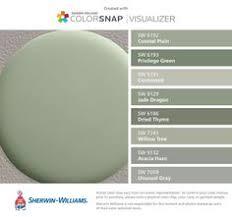 Grey green paint color Cabot Sherwin Williams Farbspiel Für Restoration Hardware Bay Laurel Blumen Bilder Exterior Paint Colors House Pinterest Gray Green Paint Designers Favorite Colors In 2019 Exterior Home