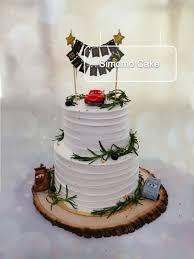 Birthday Cake Rustic Style Cake Simple Cake Food Drinks Baked