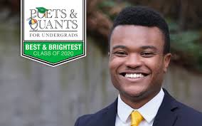 Poets&Quants For Undergrads | 2020 Best & Brightest: Alfred Mugho,  University of Washington (Foster)