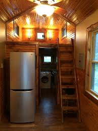 tiny house fridge. This Tiny House On Wheels Is A Rustic Dream Brought To Life {For Sale} Fridge O