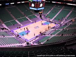 Vivint Smart Home Arena View From Upper Level 137 Vivid Seats