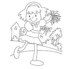 Small Picture 25 Beautiful Free Printable Cheerleading Coloring Pages Online