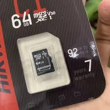Thẻ Nhớ Micro SD Hikvision 64Gb Class 10 -Chính hãng - Thẻ nhớ và bộ nhớ mở  rộng
