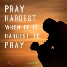 Quotes About Prayer Christian Best of Christian Inspirational Quote Pray Hardest When It's Hardest To
