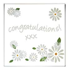 Image result for congratulations with daisies