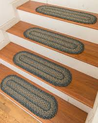 wool braided stair treads stairs design ideas