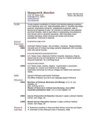 Resume Layout Tips