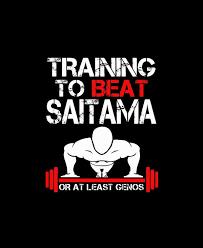 Training To Beat Saitama Poster
