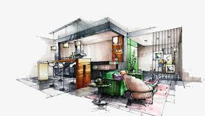 interior design hand drawings. Interior Design Hand Drawing, Indoor, Design, Painted PNG Image And Clipart Drawings G