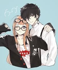 akg headphones futaba. imagefutaba and her boyfriend! by @simulacre__1_2 akg headphones futaba r
