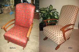 mid century platform rocker rocking chair modern