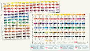 Daniel Smith Color Charts