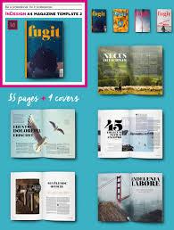 magazine templates creative print layout designs indesign a4 print magazine template 2
