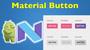 How To Design A Button In Android 17 Android Material Design Android Button Design 1 3