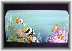 painted mailbox designs. Perfect Painted Fish Mailboxes Several Designs Inside Painted Mailbox Designs