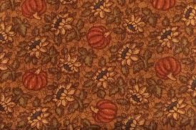1 Yard Thimbleberries - Pumpkin Floral Print - Quilt Club ... & Get Shipping Estimate Adamdwight.com