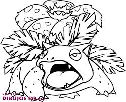 Small Picture Pokemon Coloring Pages Venusaur Coloring Page Pokemon Coloring