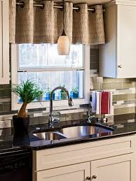 over the sink lighting. appealing short kitchen curtains decorating captivating brown over the black washbasin with sink lighting i