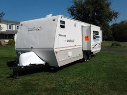 travel trailer toy hauler with outdoor kitchen rethink home improvement