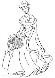 Princesse De Noel Coloriage