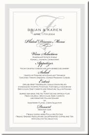 wedding menu cards vintage monogram menu cards special event menu Wedding Reception Menu Cards menu cards give the guests an idea of what is being served and what options are available at an event wedding reception menu card template