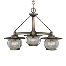 cheap chandelier lighting. Cascadia Lighting Jamestown 24-in 3-Light Parisian Bronze Farmhouse Seeded Glass Shaded Chandelier Cheap