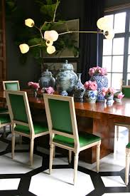emerald dining table set