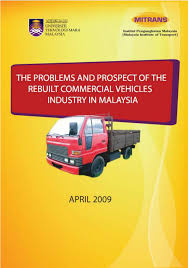 pdf the problems and prospect of the rebuilt mercial vehicles industry in msia