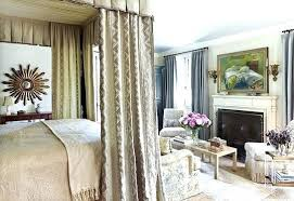 Canopy Bed Drapes Curtains With Earthy Elegance Lights Red Queen ...