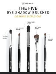 how to use eyeshadow brushes eye blender brush 5 makeup brushes you need eyeshadow brushes