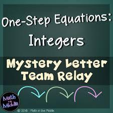 one step equations integers pic1