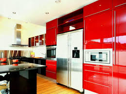 modern kitchen cabinet colors. Ultra Modern Kitchen Appliances Colors New Exciting Trends Home Retro Red Cabibet Ideas Cabinets Homebnc Braun Cabinet