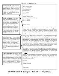19 Cover Letter Examples Pdf