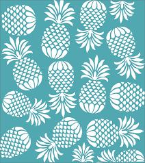 pineapple express reusable stencil 9 sizes pineapple wall paper design create beach