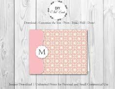Note Card Maker Printable 22 Best Spanish Italian Morocco Tile Monogram Printable Diy Note