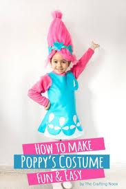 how to make troll s poppy costume tutorial