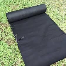 garden mat. Modren Garden Agfabric Landscape 6x50ft BioWeed Barrier Biodegradable Nonwoven Fabric  For Raised BedOrganic Gardening With Garden Mat N