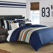 queen comforter on twin bed.  Queen Sailing Stripe Comforter Set Throughout Queen On Twin Bed D