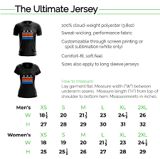 Size Chart Savage The Ultimate Apparel Company