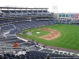 Nats Stadium Seating Chart Views Nationals Park Seat Views Section By Section