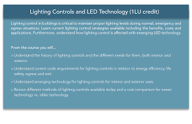 lighting controls and led technology