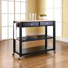 Rolling Kitchen Island Table Stylish Renovations For Kitchen Rolling Cart And Wood Countertops