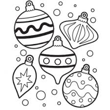 Small Picture Free Coloring Pages Christmas Ornaments Other Funny Ornament
