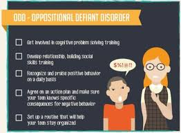 Behavior Charts For Oppositional Defiant Disorder Teaching Students With Odd Oppositional Defiant Disorder