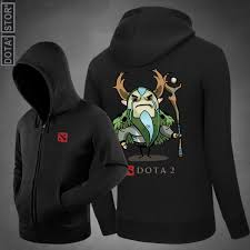 dota 2 natures prophet hooded sweatshirt zip up hoodie dota 2