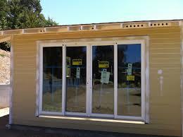 unparalleled four panel sliding patio door marvin clad panel sliding patio door four panel sliding patio