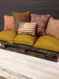 pallet sofa and cushions