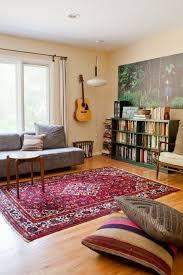 stunning colorful living room choosing a persian rug
