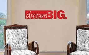 dream big vinyl wall art quote from wallartcompany uk on dream wall art uk with dream big vinyl sticker decal wall art company